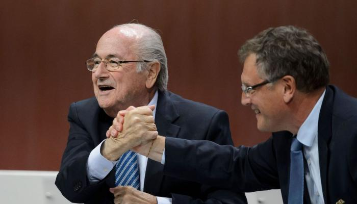 Fifa: Sepp Blatter et Jérôme Valcke suspendus six ans de plus