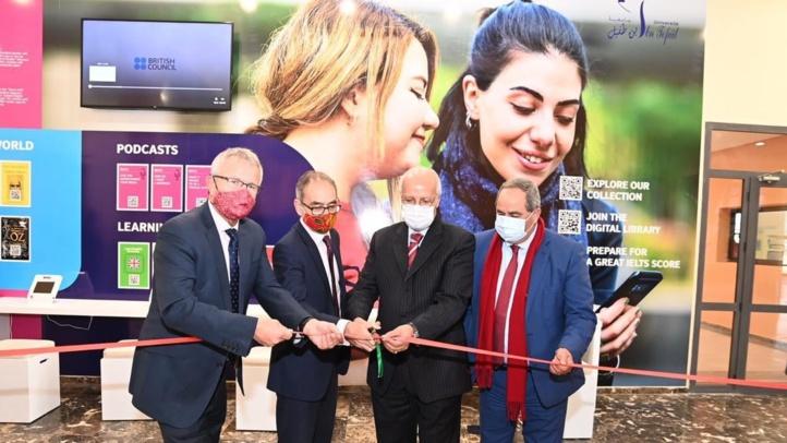 Université Ibn Tofail : Inauguration d'un mur de bibliothèque numérique