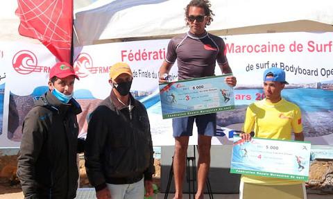 Safi : Excellente organisation de la finale du Championnat national de surf et de bodyboard