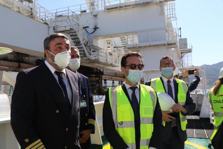Le Ministre français du transport en visite de travail au Maroc