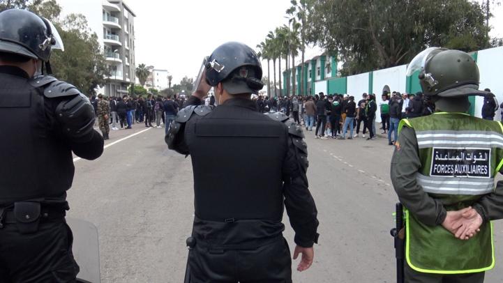 Les ultras du Raja investissent les rues malgré l'état d'urgence