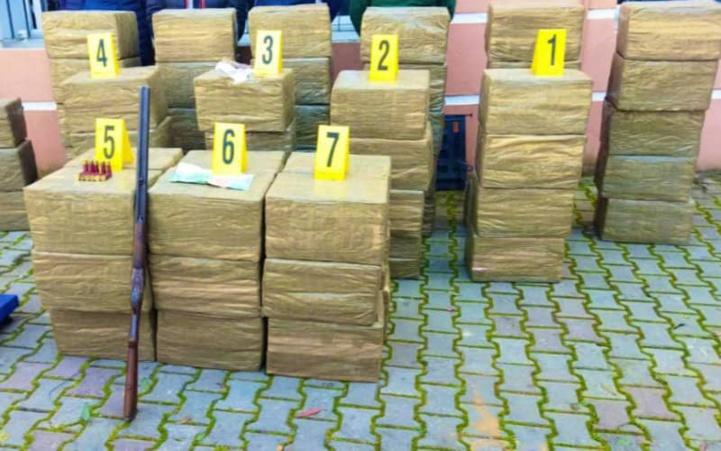 Trafic international de drogue : une importante saisie à Kénitra