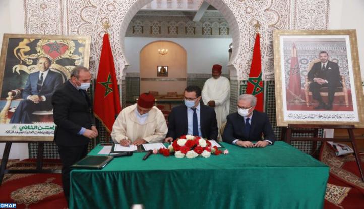Une convention de partenariat pour l'histoire et la civilisation marocaines sous le règne de la Dynastie Alaouite