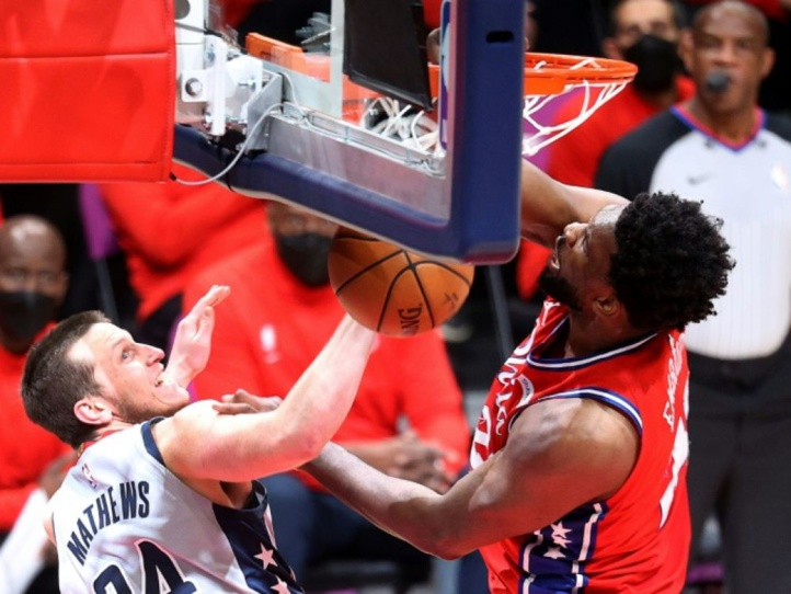 NBA: Philadelphie revient à hauteur des Nets
