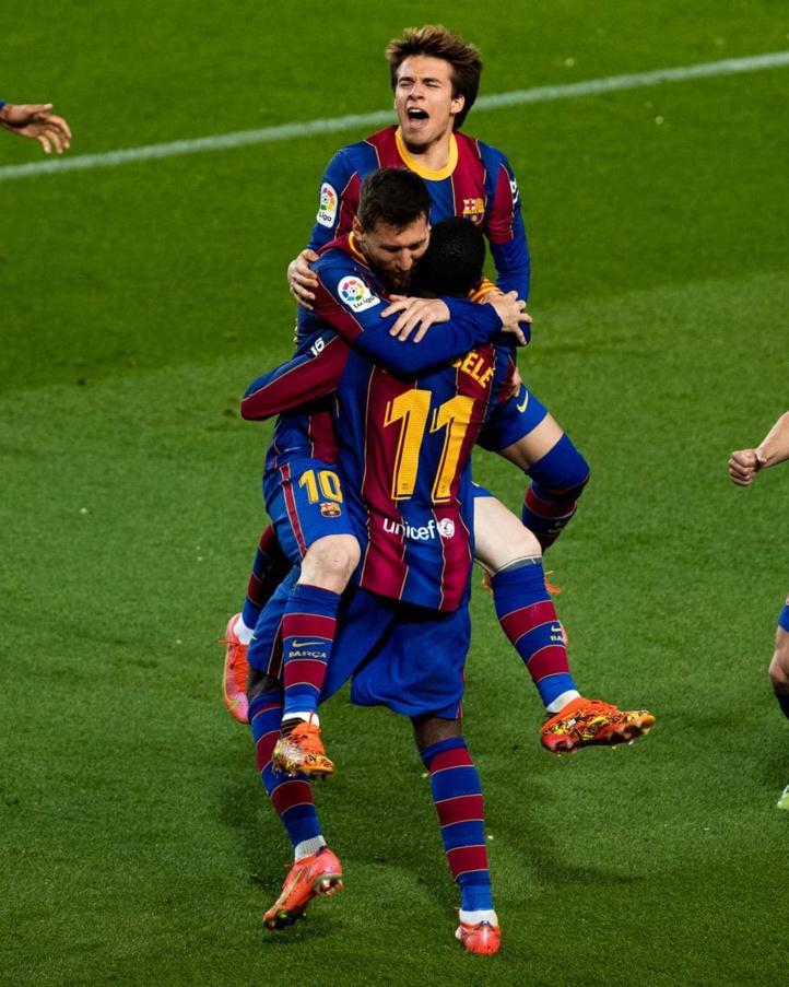 Liga: Dembélé arrache la victoire pour le Barça, avant le clasico