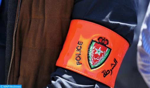 Salé: un policier contraint à user de son arme de service pour interpeller un suspect