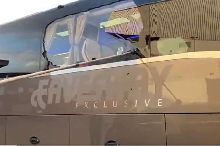 Ligue des Champions :  Le bus du Real attaqué par des hooligans !