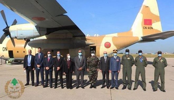 Acheminement des aides alimentaires : l'armée libanaise remercie SM le Roi