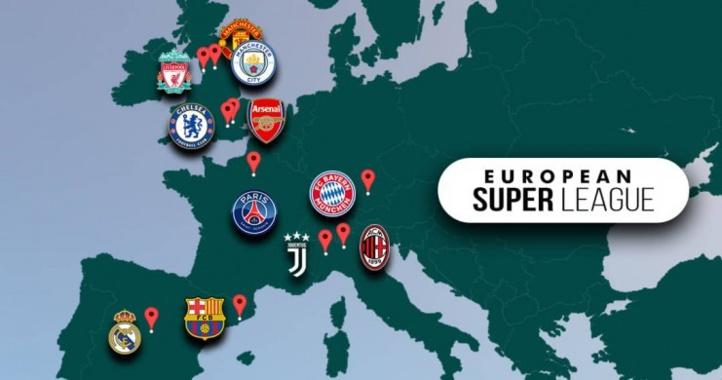 Projet Super Ligue Européenne :  Les menaces de l'UEFA  envers les clubs « séparatistes »
