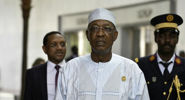 Fraîchement réélu, le président tchadien  Idriss Déby meurt suite à des blessures reçues au front