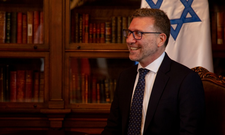 Christian Cantor, ambassadeur d'Israël en Colombie