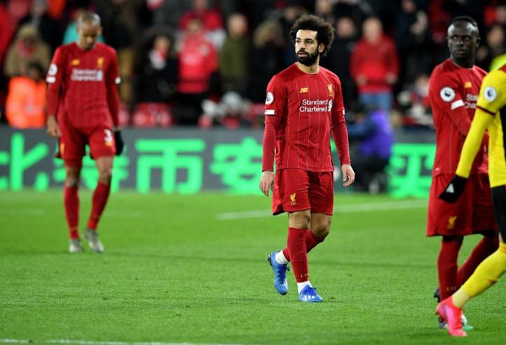 Championnat anglais : Liverpool perd 2 points dans sa course vers la Ligue des Champions