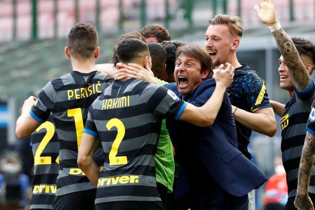 Foot italien : L'Inter champion d'Italie