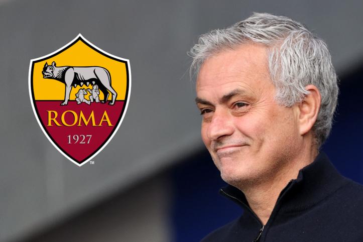 Mourinho coach de l'AS Roma, saison 2021-2022
