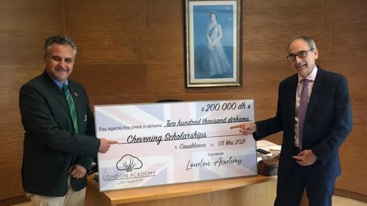Bourse Chevening : London Academy de Casablanca apporte son soutien