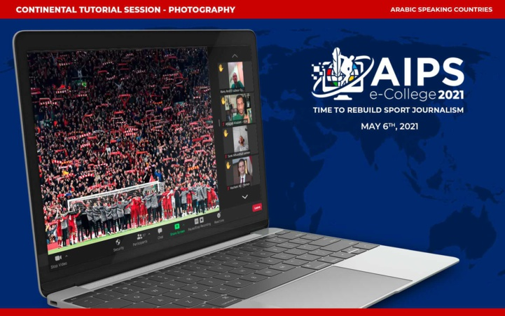 Association Internationale de la Presse Sportive : Stage de la photographie e-College 2021