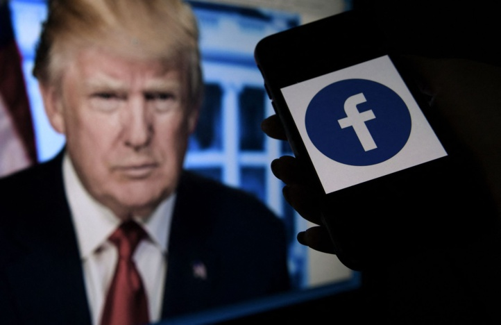 Facebook:  Donald Trump définitivement exilé du réseau social ?