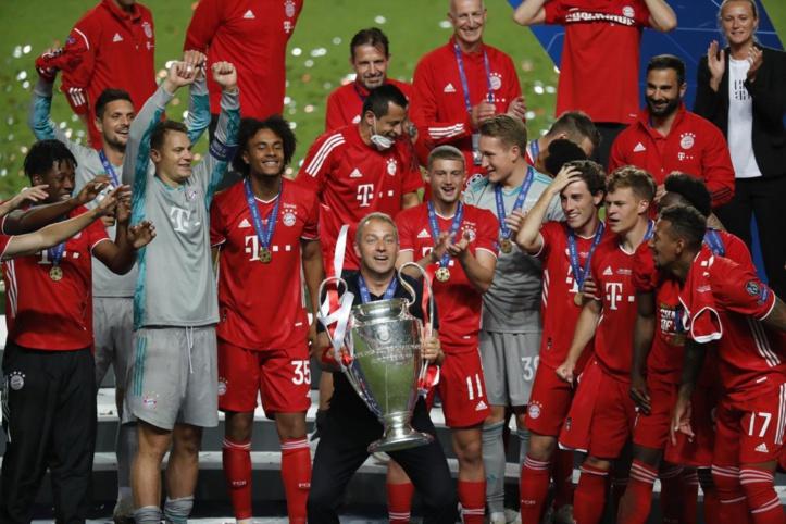 Classement UEFA / 2020-2021 : Le Bayern premier, le Man City dépasse le Barça