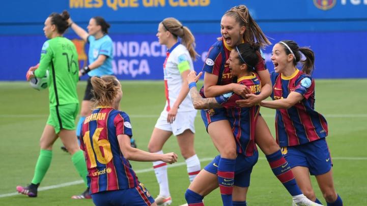 Foot féminin européen : Le Barça champion d'Espagne et finaliste de la Ligue des Champions face à Chelsea