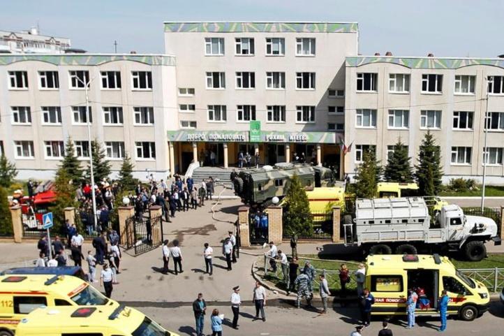 8 morts et plusieurs blessés dans une école à Kazane en Russie