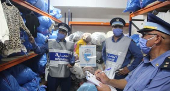 242 millions de DH de marchandises de contrebande confisquées en 2020