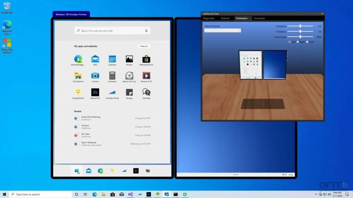 Abandon du système d'exploitation Windows 10X
