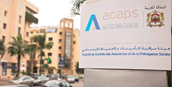 ACAPS : Hausse de 3,3% des primes émises à fin mars