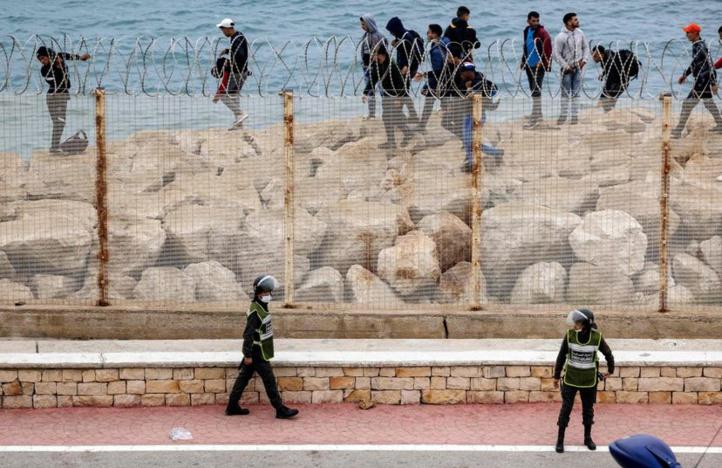 Sebta : Le Maroc déploie ses forces de l'ordre