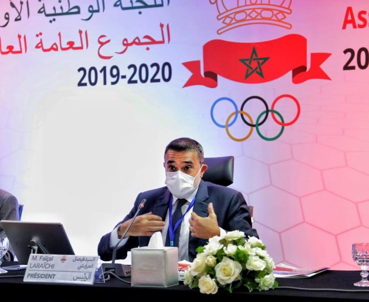 Le Comité National Olympique Marocain a tenu ses deux A.G.O (saisons 2019 et 2020)