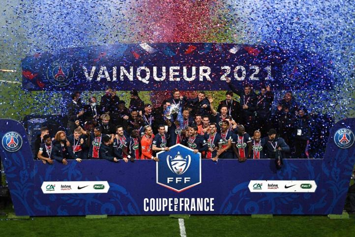 Coupe de France: Le Paris SG remporte son trophée porte-bonheur