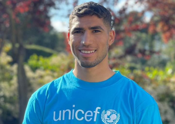 UNICEF-Maroc : Achraf Hakimi nommé champion des Droits de l'enfant au Maroc