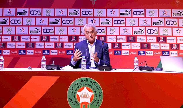 Football / Matchs amicaux: Conférence de presse de Vahid Halilhodzic le 27 mai