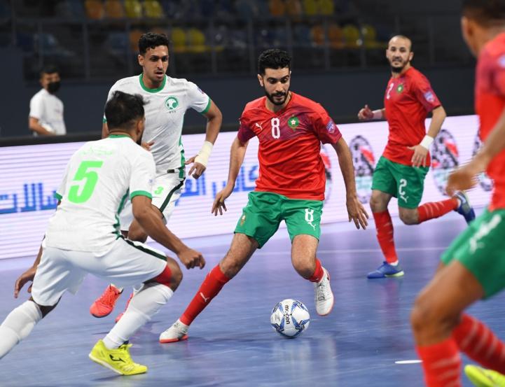 Futsal / Coupe Arabe -Egypte 2021- : Le Maroc écrase l'Arabie Saoudite (8-0) pour retrouver le Bahreïn en demi-finale