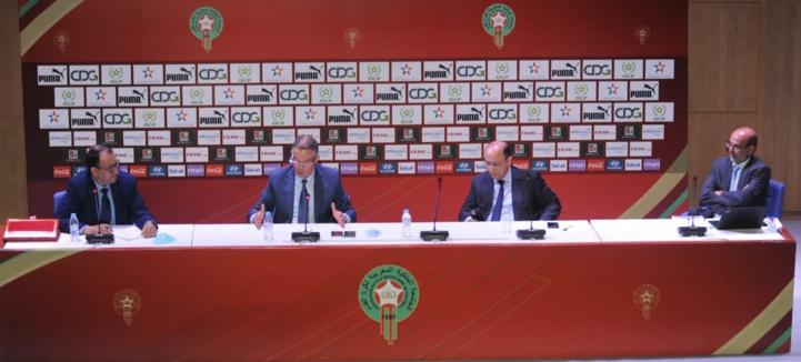 FRMF : Journée d'étude entre les présidents de clubs, la Direction Générale des Impôts (DGI) et la CNSS