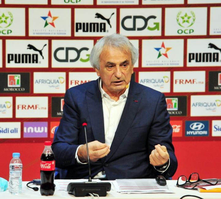 Matchs amicaux /  Halilhodzic : « Un test du niveau de préparation de l'équipe nationale »