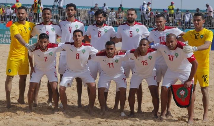 CAN de Beach Soccer : Le Maroc s'incline devant le Sénégal en demi-finale