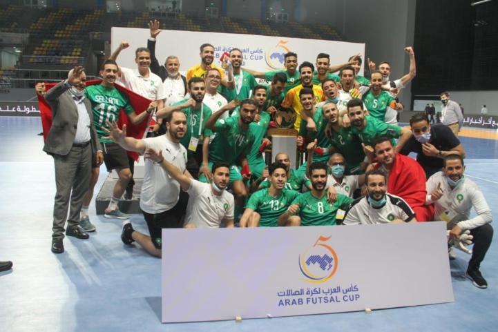 5ème championnat arabe de Futsal : Le Maroc remporte la coupe