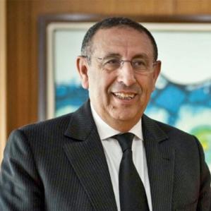 Son Excellence l'ambassadeur du Maroc à Prétoria, Youssef Amrani.