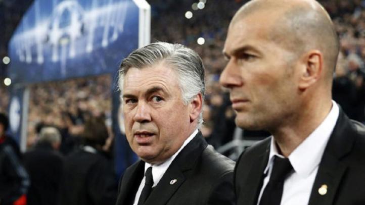 Real Madrid : Ancelotti rend hommage à Zidane