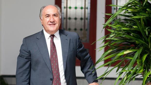Le maire d'Algésiras, José Ignacio Landaluce.