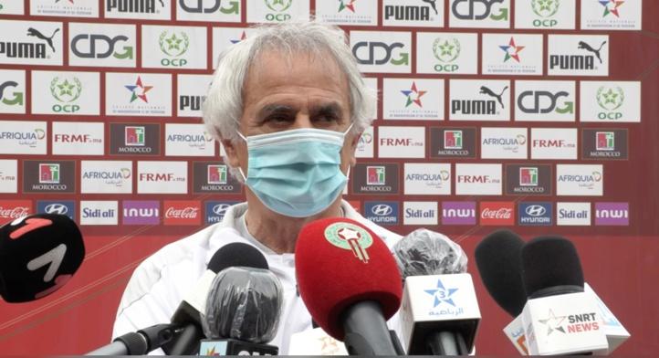 Matchs amicaux / Vahid Halilhodzic : « Une victoire pour prendre de la confiance »