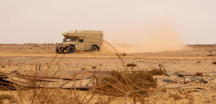 African Lion 2021 : El Mahbes, théâtre de manœuvres terrestres et aéroportées de grande envergure (Images)