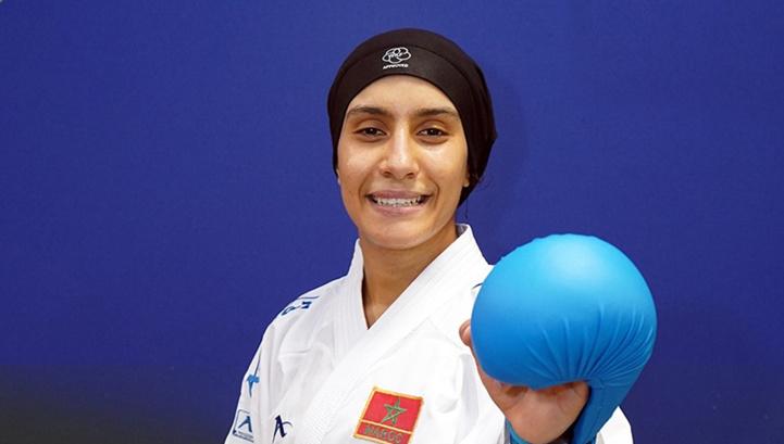 Karaté : Médaillée d'or, Btissam Sadini se qualifie pour les JO de Tokyo