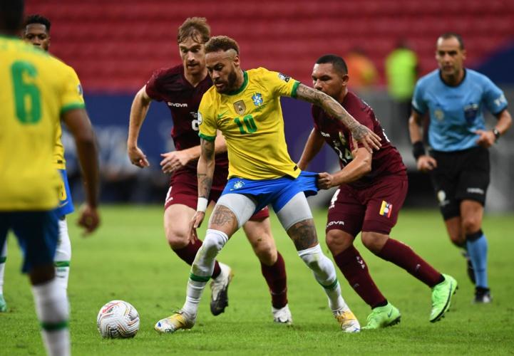 Copa America: Le Brésil bat sans briller un Venezuela diminué, Neymar décisif