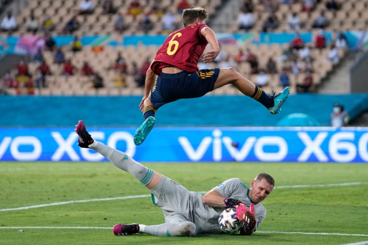 Euro 2020 : La Suède neutralise l'Espagne