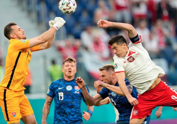 Euro 2020 : La Slovaquie prend le dessus sur la Pologne de Lewandowski