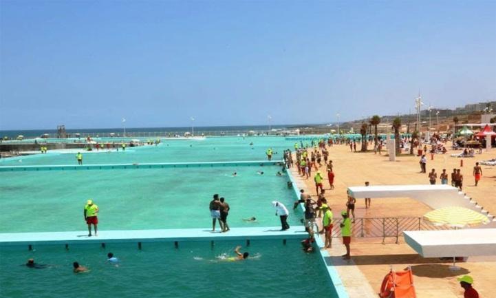 La grande piscine de Rabat rouvre ses portes (Images)