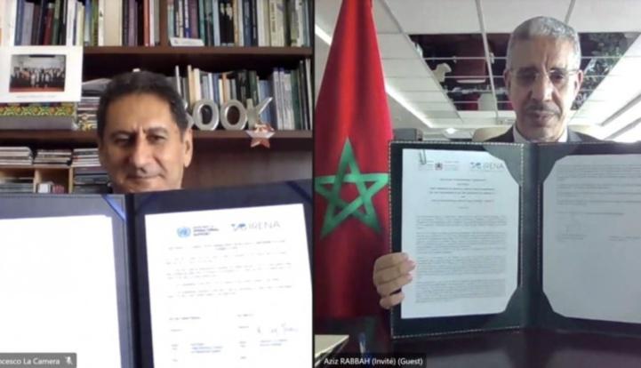 Le Maroc remplace l'Allemagne par l'IRENA pour se lancer dans l'export