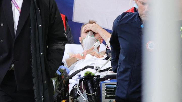 Euro : Le Danois Eriksen va devoir porter un défibrillateur  cardiaque