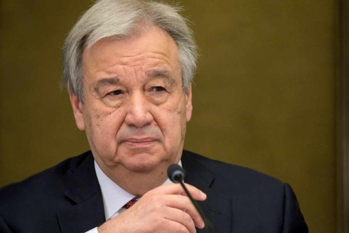 """ONU : Investi d'un second mandat, Antonio Guterres plaide pour un """"multilatéralisme revigoré"""""""